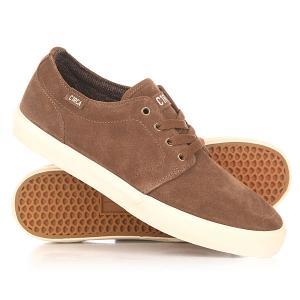 Кеды кроссовки низкие  Drifter Pinecone/Gum Circa. Цвет: коричневый