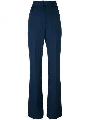 Расклешенные брюки Maison Margiela. Цвет: синий