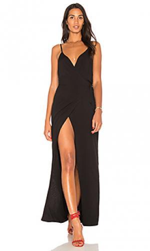 Платье leo De Lacy. Цвет: черный