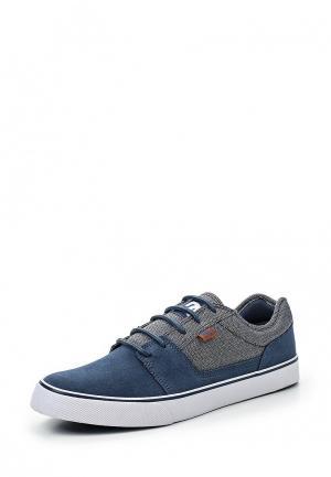 Кеды DC Shoes. Цвет: синий