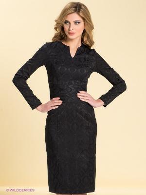 Платье LOVE&LIGHT. Цвет: черный