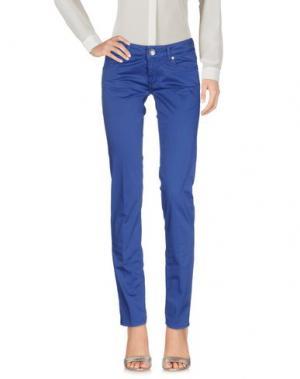 Повседневные брюки ENTRE AMIS. Цвет: синий