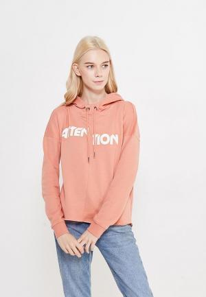 Худи Only. Цвет: оранжевый