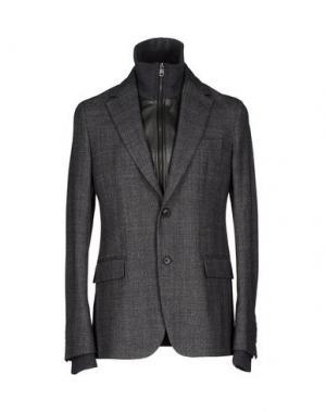 Пиджак FAÇONNABLE. Цвет: стальной серый