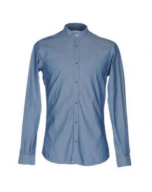 Pубашка ..,BEAUCOUP. Цвет: синий