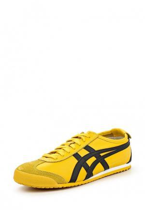 Кроссовки Onitsuka Tiger. Цвет: желтый