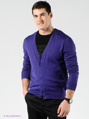 Кардиган TOM FARR. Цвет: фиолетовый