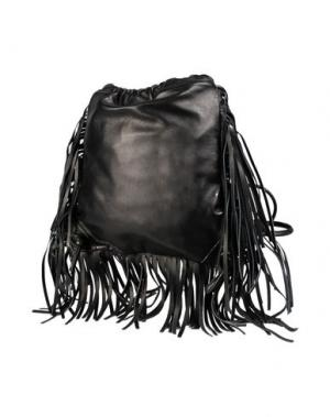 Рюкзаки и сумки на пояс SARA BATTAGLIA. Цвет: черный