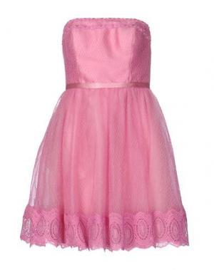 Короткое платье LEXUS. Цвет: светло-фиолетовый