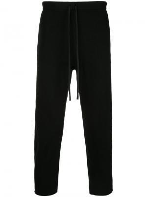 Зауженные спортивные брюки  Forme Dexpression D'expression. Цвет: чёрный