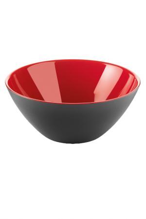 Салатница 20 см GUZZINI. Цвет: черный, красный
