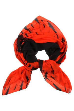 Платок Mcq-Alexander McQueen. Цвет: оранжевый