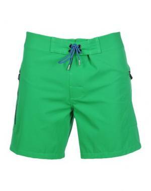 Пляжные брюки и шорты EVEREST ISLES. Цвет: зеленый