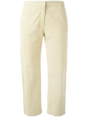 Укороченные брюки Fabiana Filippi. Цвет: телесный