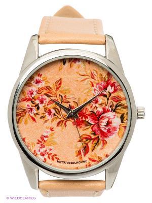 Часы Mitya Veselkov. Цвет: бежевый