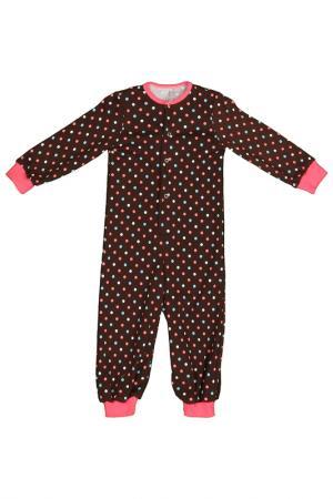 Пижама Веста. Цвет: коричневый