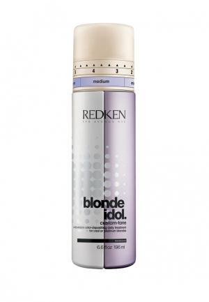 Кондиционер Blonde Idol Violet Redken. Цвет: золотой