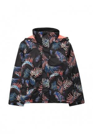 Куртка горнолыжная Roxy. Цвет: черный