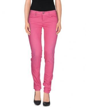 Повседневные брюки JCOLOR. Цвет: фуксия