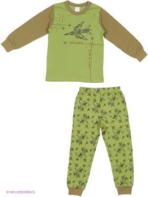 Пижама Модамини. Цвет: хаки