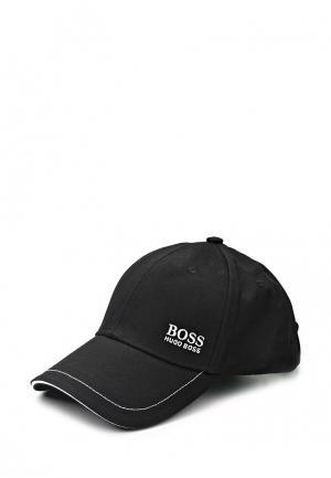 Бейсболка Boss Green. Цвет: черный