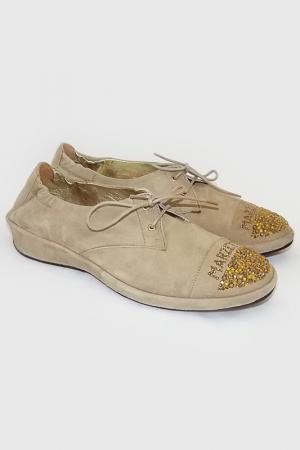 Ботинки Marzetti. Цвет: песочный