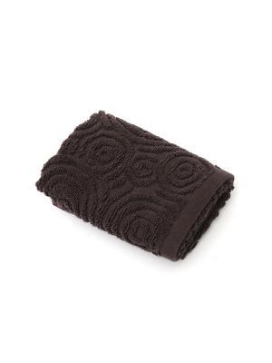 Полотенце для ванной 30х50 см Skif brown WESS. Цвет: коричневый