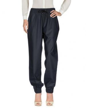 Повседневные брюки RAINS. Цвет: темно-синий