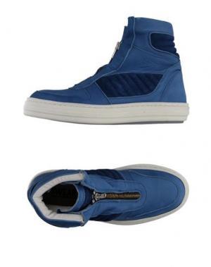 Высокие кеды и кроссовки SWEAR-LONDON. Цвет: грифельно-синий