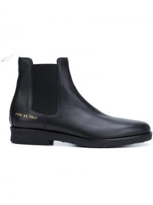 Ботинки челси Common Projects. Цвет: чёрный