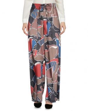 Повседневные брюки PAOLO CASALINI. Цвет: черный