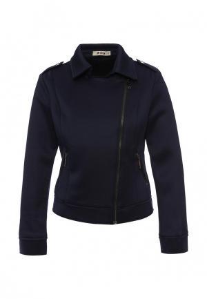 Куртка Softy. Цвет: синий