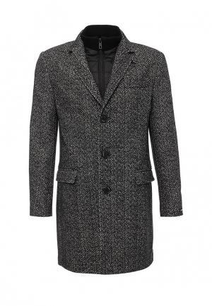 Пальто Lagerfeld. Цвет: серый