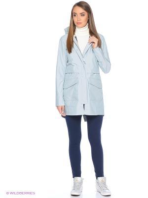 Куртка The North Face. Цвет: серо-голубой