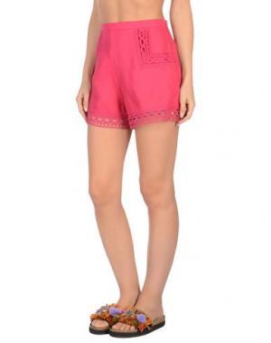 Пляжные брюки и шорты ERMANNO SCERVINO BEACHWEAR. Цвет: фуксия