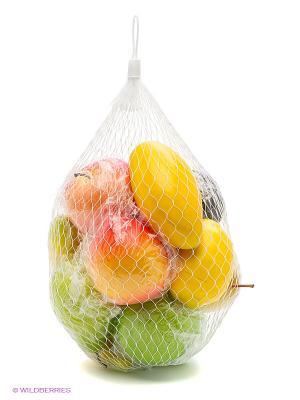 Игровой набор фрукты в сетке Тилибом. Цвет: прозрачный