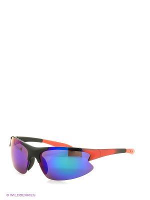 Солнцезащитные очки Vita pelle. Цвет: красный, синий