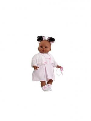 Кукла Arias мулатка SAIRA Elegance 45 см, в розовом Arias.. Цвет: розовый