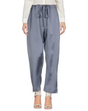 Повседневные брюки ZIMMERMANN. Цвет: серый
