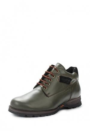 Ботинки Bekerandmiller. Цвет: зеленый