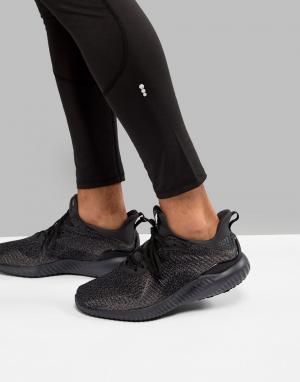 Adidas Черные кроссовки Running Alphabounce DB1090. Цвет: черный