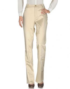 Повседневные брюки ANGELO MARANI. Цвет: бежевый