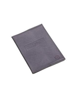 Обложка для паспорта Time. Цвет: черный