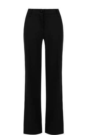 Расклешенные брюки со стрелками Valentino. Цвет: черный