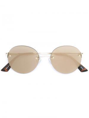 Bodoozle sunglasses Le Specs. Цвет: металлический