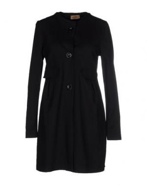 Легкое пальто ALPHA MASSIMO REBECCHI. Цвет: черный