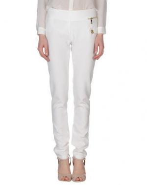 Повседневные брюки MARY C. Цвет: белый