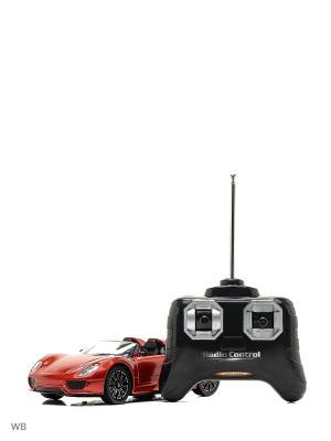 Машина р/у Porsche 918 Spyder  1:24 HOFFMANN. Цвет: красный