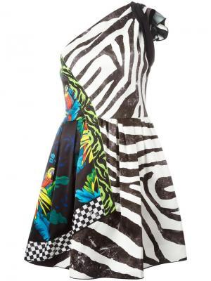 Платье с принтом Marc Jacobs. Цвет: многоцветный