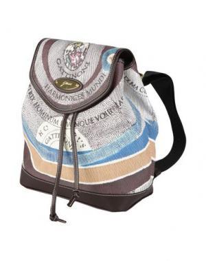 Рюкзаки и сумки на пояс GATTINONI. Цвет: какао
